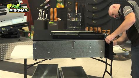 Australian Kitchen Design how to install ironman 4x4 drawer system wing kit youtube