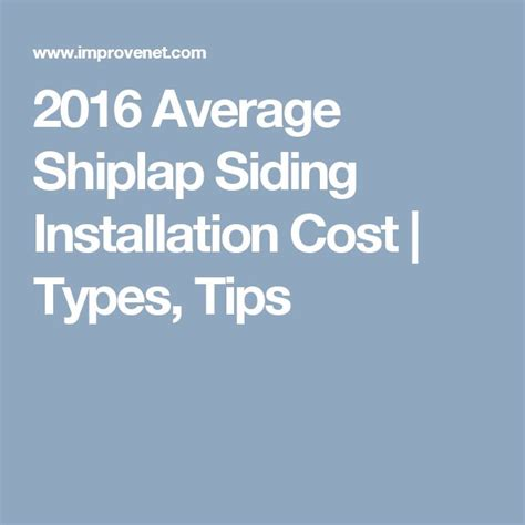 Shiplap Installation Cost 1000 Ideas About Shiplap Siding On Shiplap
