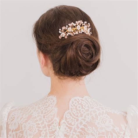 Wedding Hair Accessories Not On The High by Boho Wedding Hair Comb By Britten Weddings
