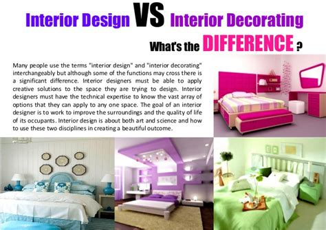 interior design vs decorator iron
