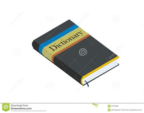 Simple Dictionary dictionary simple illustration stock vector image 61535308