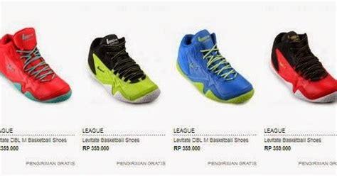 Daftar Harga Sepatu Reebok Indonesia daftar harga sepatu basket league original terbaru toko