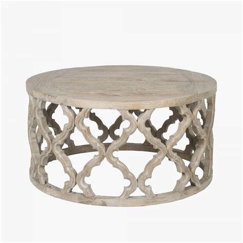 carved quatrefoil coffee table shop coffee tables dear