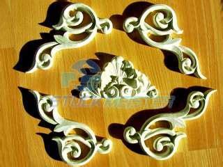 gips ornamente ornament relief barock rococo stuck wappen 57 32cm w4 on