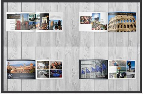Travel Brochure Templates For Travel Agencies Texty Cafe Travel Album Template
