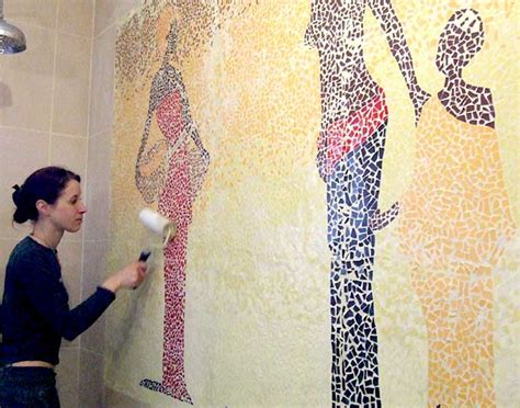 Supérieur Mosaique Murale Salle De Bain #5: berge_salle_de_bain_decoration_mosaique_1.jpg