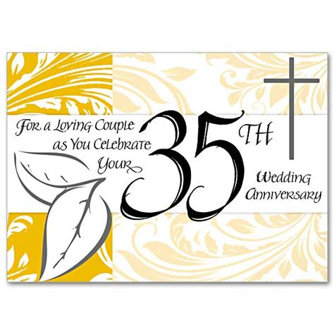 35th Wedding Anniversary Card Quotes by For A Loving As You Celebrate Your 35th Wedding
