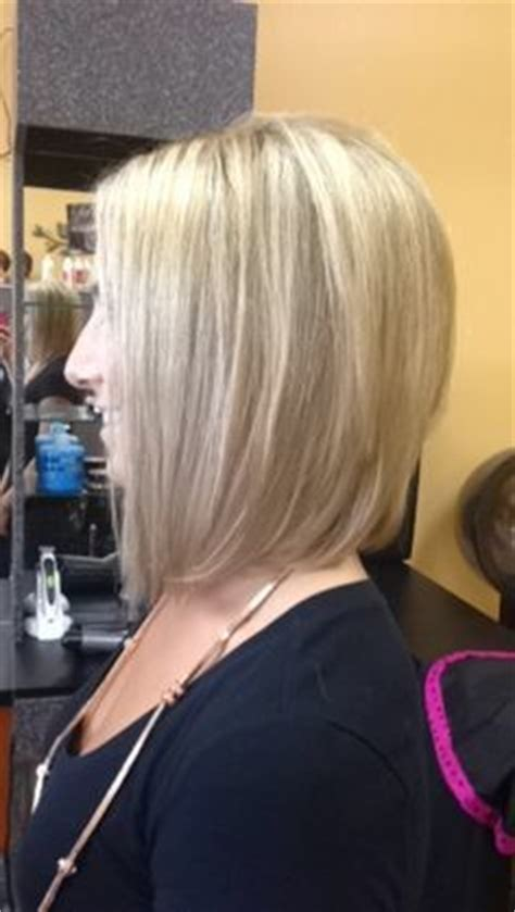 front and back view of blunt hairstyles zero degree blunt shoulder length bob back view haircut ideas