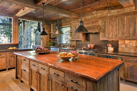 rustic kitchen decor ideas interior design trends 2017 rustic kitchen decor