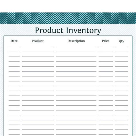 business day planner printable product inventory business planner printable pdf