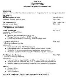 Sample Us Resume – Free For All ? Resume Advice