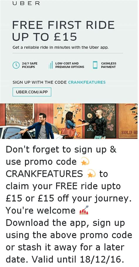 Dont Forget To Sign Up For The Gift Certificate by 25 Best Memes About Uber Dont And Journey Uber