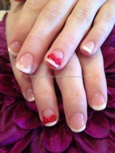 3d Wedding Nails W Swarovski Kuku Palsu Nail Wd0048a 3d nail designs 3d strawberry nail design with rhinestones nail