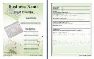 event planner template free event planner template calendar template 2016