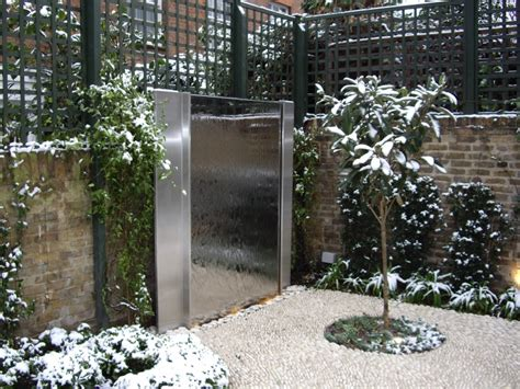 wall features for gardens garden wall water features water wall features