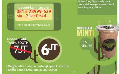 Laba 50 Di Usaha Takoyaki Dan Minuman Coklat franchise terbaik peluang usaha fourty eight blend