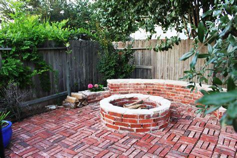 brick backyard 30 vintage patio designs with bricks wisma home