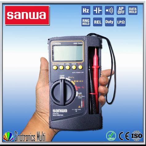 Multimeter Digital Merk Sanwa beste digital multimeter sanwa cd800a multimeter produkt