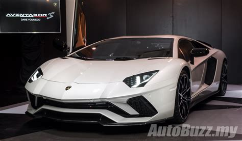 my lamborghini aventador lamborghini aventador s lands in malaysia rm1 8 mil