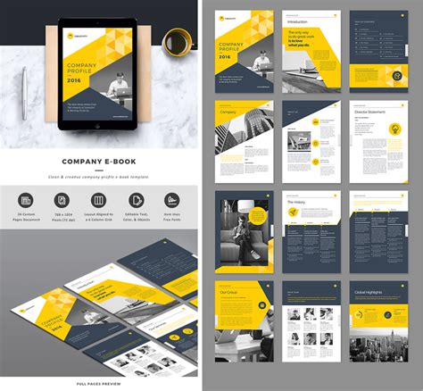 company profile indesign template 25 indesign templates every designer should own