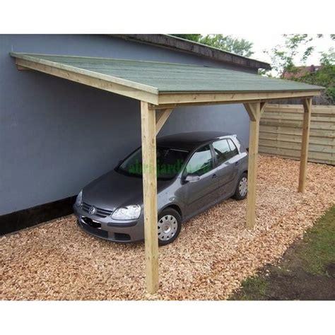 photos de appentis construire garage