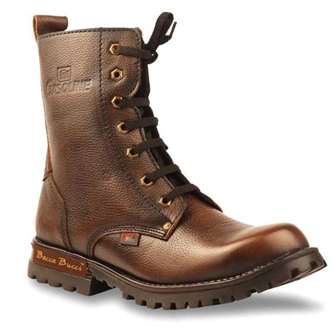 bacca bucci brown boots buy bacca bucci leather boots brown at best price