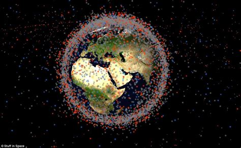 space junk map stuff in space tracks thousands of satellites rockets and