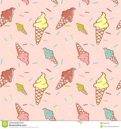 seamless pattern ice colorful melting ice cream seamless pattern royalty free
