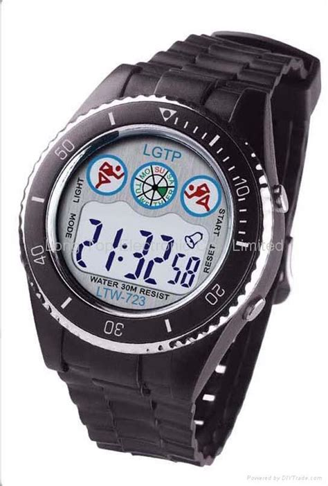 plastic digital sportywatch ltw 820 oem china