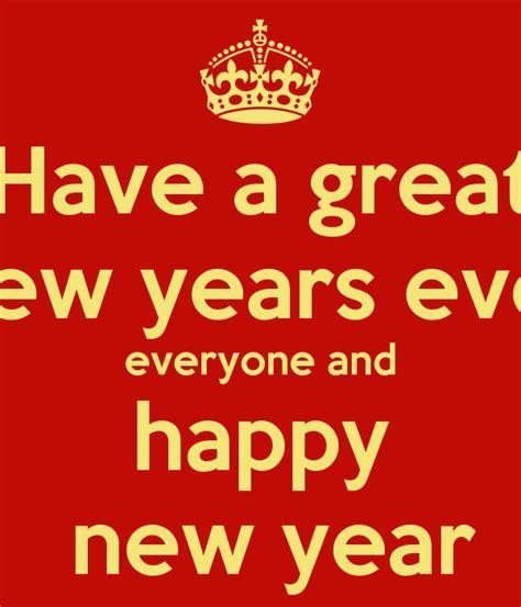 happy new year everyone happy holidays