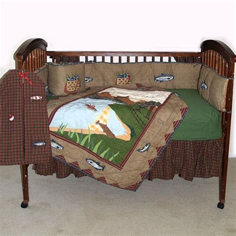 Gone Fishing Crib Bedding For The Baby Fishing Crib Bedding