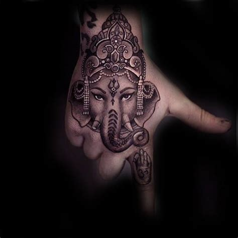90 ganesh tattoo designs for men hindu ink ideas