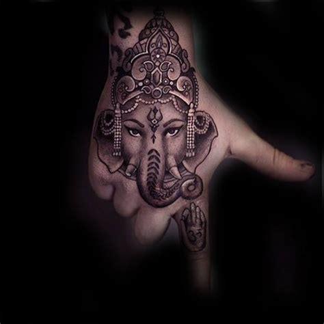 ganesh tattoo designs on hand 90 ganesh tattoo designs for men hindu ink ideas
