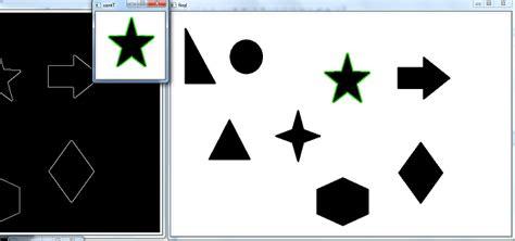 opencv template matching 33 opencv шаг за шагом сравнение контуров через