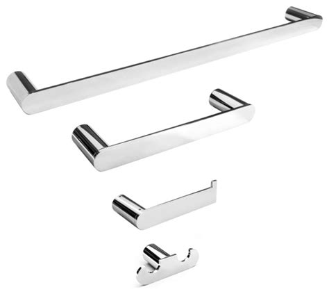 polished chrome bathroom accessories 4 piece bathroom accessory set wall mounted sapphire