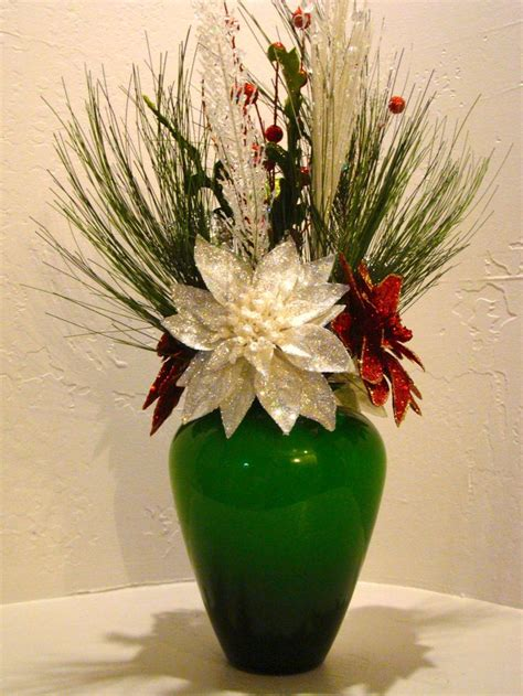 christmas silk floral arrangement 3003 home decor that