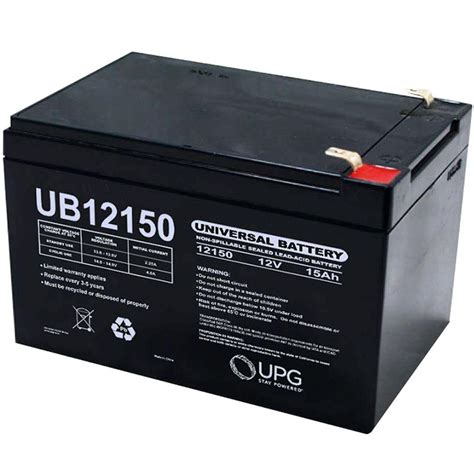 upg sla 6 volt f1 terminal battery ub670 the home depot