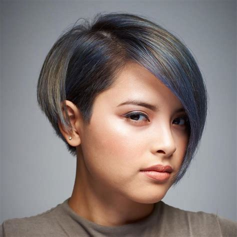 asymmetrical bob hairstyles for round faces best hairstyles for round faces hirerush blog
