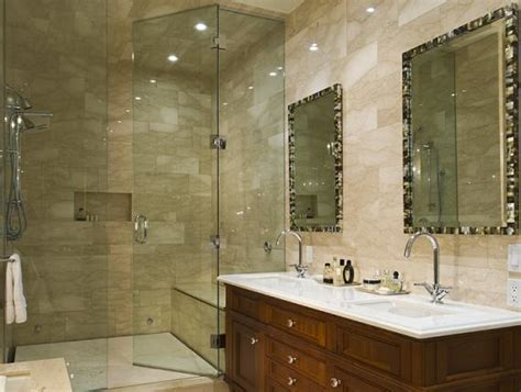 full tile bathroom white mother of pearl tiles design ideas