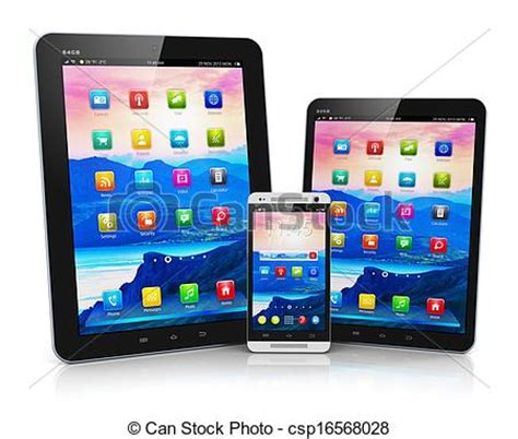 mobile pictures mobile device clipart