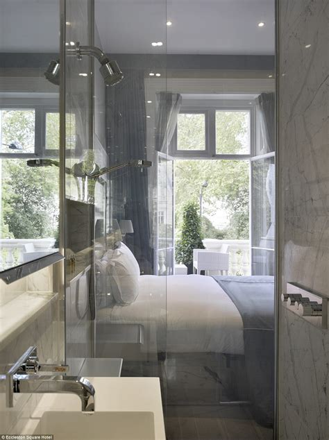 see through bathroom is this london s smartest hotel eccleston square boasts
