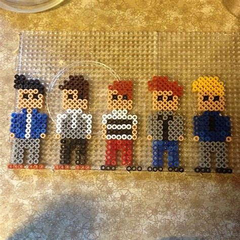 one direction perler one direction hama perler by elisa b h bead patterns