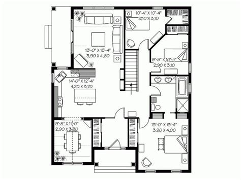 luxury 3 bedroom low cost house plans new home plans design