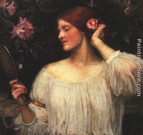 william waterhouse vanity painting framed paintings