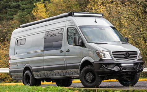 van side awning the unicorn among all wheel drive cers myvan