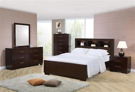 bookcase bedroom set 200719 coaster bookcase headboard bedroom set