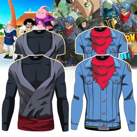 Goku Suit T Shirt Kaos z black goku trunks sleeve sport s t shirt ebay