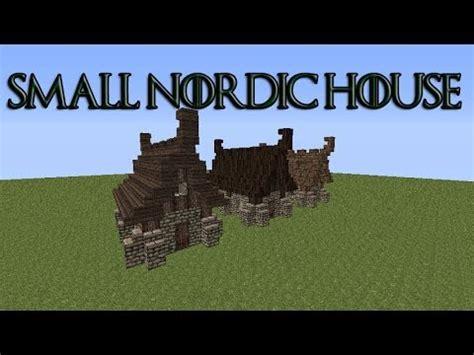 minecraft nordic house minecraft tutorial nordic house doovi