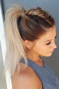 pony hairstyles top 25 best ponytail hairstyles ideas on easy