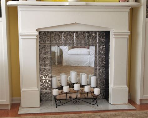 Things To Put You On A Floral Frenzy by How To Make A Faux Fireplace A Cultivated Nest